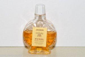 "Vintage Funel Parfumeur Jasmin Parfum-Bottle 2 1/2"" tall"