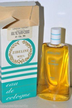 Vintage Weil Zibeline Eau de Cologne-4.0 fl. oz