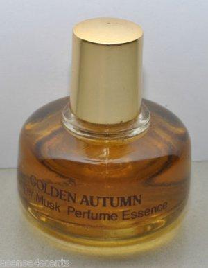 Vintage Prince Matchabelli Golden Autumn Ginger Musk Perfume Essence-.49 oz