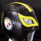 NFL UNOFFICIAL PITTSBURGH STEELERS STYLE MASK PRO FIT MEXICAN WRESTLING MASK LUCHA LIBRE HALLOWEEN