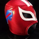 NFL UNOFFICIAL BUFFALO BILLS STYLE MASK PRO FIT MEXICAN WRESTLING MASK LUCHA LIBRE HALLOWEEN