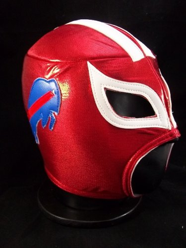 nfl unofficial buffalo bills style mask pro fit mexican wrestling mask ... 9b1ec86be