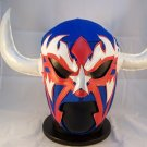 RENCOR BLUE ADULT SIZE MEXICAN WRESTLING MASK