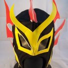 BLACK DRAGON ADULT SIZE MEXICAN WRESTLING MASK