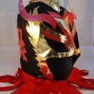 ULTIMO DRAGON BLACK Premium Adult Mexican Wrestling Lucha LIbre Mask Halloween