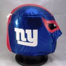 NFL UNOFFICIAL NY GIANTS STYLE MASK PRO FIT MEXICAN WRESTLING MASK LUCHA LIBRE HALLOWEEN