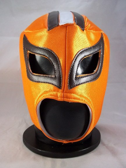 NFL UNOFFICIAL CLEVELAND BROWNS STYLE MASK PRO FIT MEXICAN WRESTLING MASK LUCHA  LIBRE HALLOWEEN 6e1cca01a