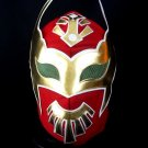 SIN CARA RED ADULT SIZE MEXICAN WRESTLING MASK