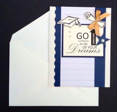 Paper Therapy Graduation Invitation-Go Confidently
