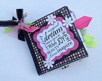 Paper Therapy Mini Scrapbook-Dream