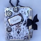 Paper Therapy Mni Scrapbook-Blk & White