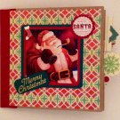 Paper Therapy Mini Phot Album-Santa