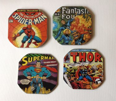 Paper Therapy | Comic Book | Coasters