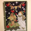 Snowman | Quilted Flag | Paper Therapy