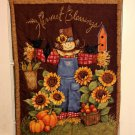 Harvest Blessing | Quilted Flag | Paper Therapy