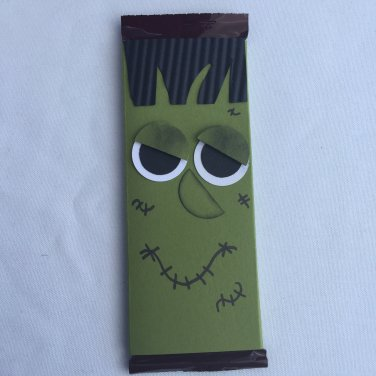 Frankenstein | Candy Bar | Wrapper | Paper Therapy