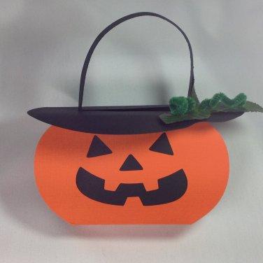 Jack-O-Lantern   Candy Box   Paper Therapy