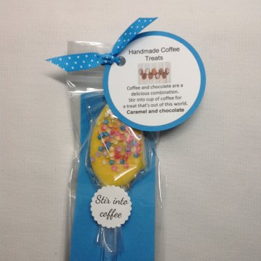 Caramel Chocolate Coffee Spoon Set   Paper Therapy