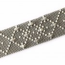 SG Liquid Metal Silver Mesh Cuff Bracelet by Sergio Gutierrez B10Z / All SIZES