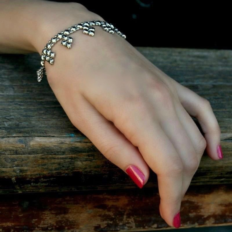 SG Liquid Metal Mesh Bracelet MINI K By Sergio Gutierrez