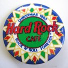Hard Rock Café Christmas 1993 Pin / Button