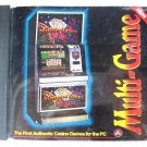 American Game Technology Co. Multi-Game Casino Games CD-ROM (PC Game) 1996