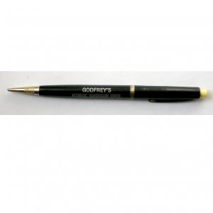 Vintage Mechanical Pencil Black, Godfrey's Automatic Transmission Service