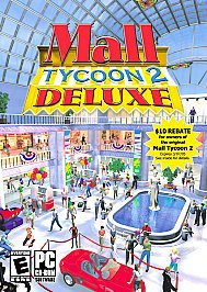 Mall Tycoon 2 Deluxe Software 2003 CD-ROM