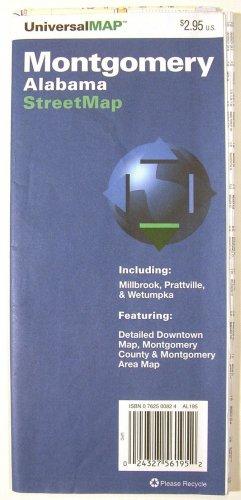 Montgomery Alabama Street Map 1995 (UniversalMAP)