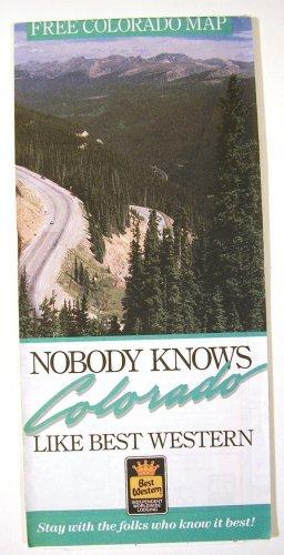 Colorado Road Map 1990 (Rand McNally/Best Western)