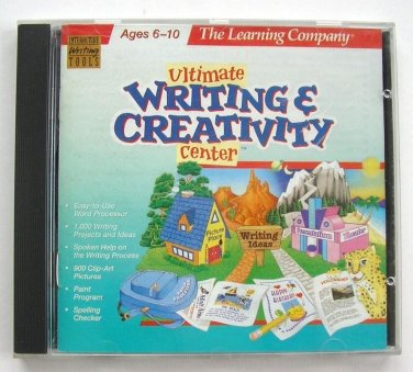 The Learning Company Ultimate Writing & Creativity Center v1 (1998) CD-ROM