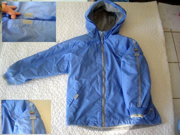 Spring/Fall Zero Posur girls Jacket with 4 Velcro Pockets 6X