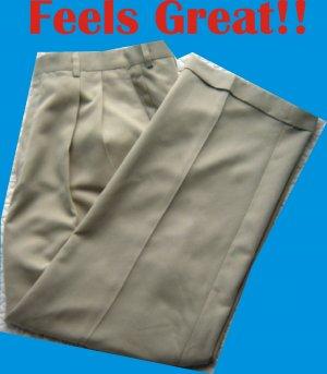 Haggar Collection Mens 38 x 29 Pants Slacks Trousers NICE!