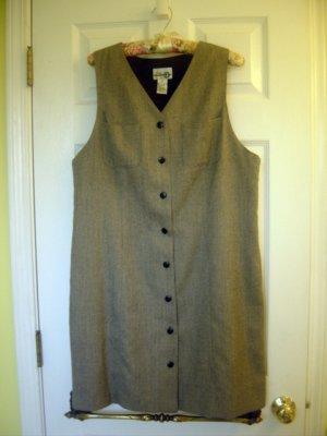 Paul Harris Womens Design PHD Classic Design Vest Dress - Sz L