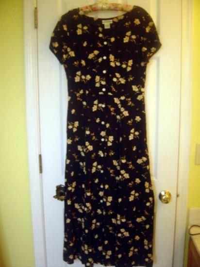 Banana Republic Womens Floral Dress Size 4 - VERY PRETTY!