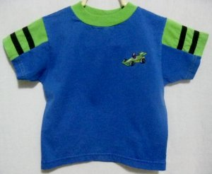 "Boy's ""Race Car"" Shirt - Size 3T"