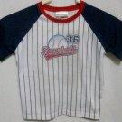 "Boy's Carters ""Baseball"" Pajamas Shirt - Size 4T"