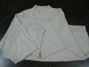 Women's Light Tan 3/4 Sleeve Sweater - Size 2X