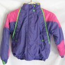 Girl's Multi-Colored Hooded Jacket - Size 8/10