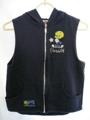 Girl's Hooded, Sleeveless, Tweety Bird Sweatshirt - Size 14/16