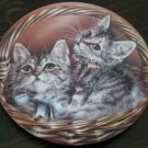 Andrew & Abby Cat Plate by The Bradford Exchange