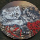 Emily & Elliott Cat Plate by The Bradford Exchange