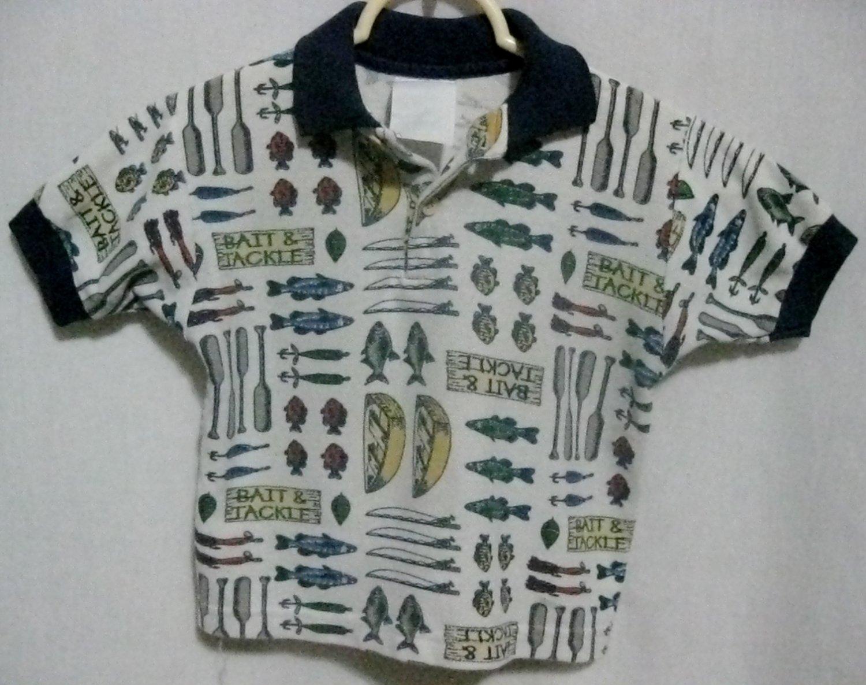 """Boy's """"Fishing"""" Shirt - Size 5T"""