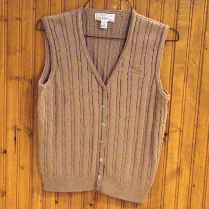 Victor Kent Cableknit Womens Waistcoat