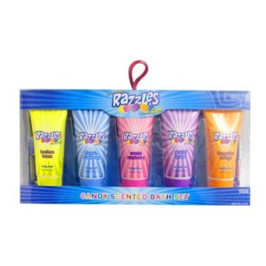 Candy Scented Bath Gels and Lotion