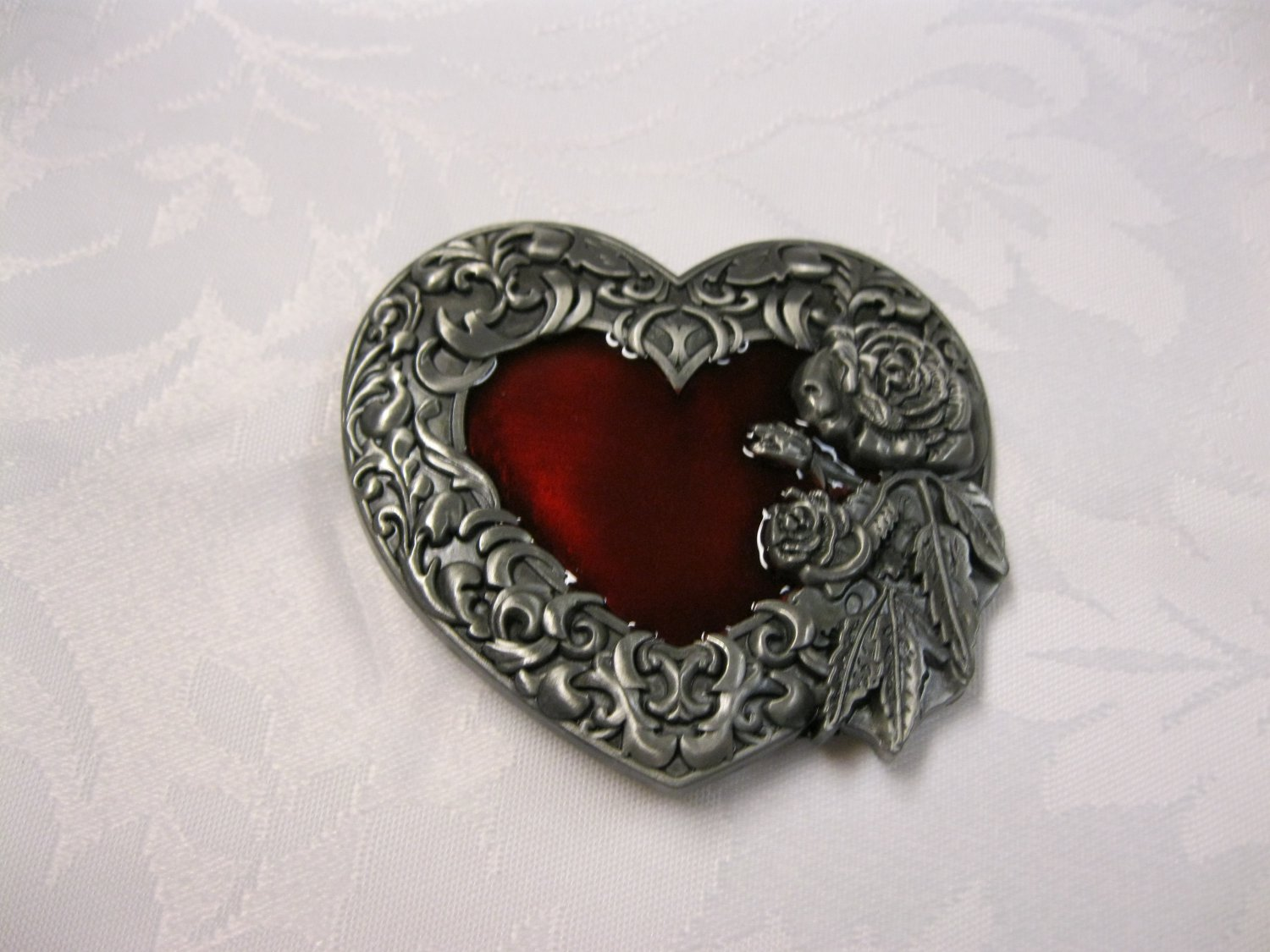 Bleeding Heart Belt Buckle