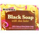 Black Soap with Shea Butter - One 3.5 Oz Bar (Free Shipping with Additional Purchase)