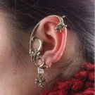 Punk Gothic Winding Flower Earring Cuff