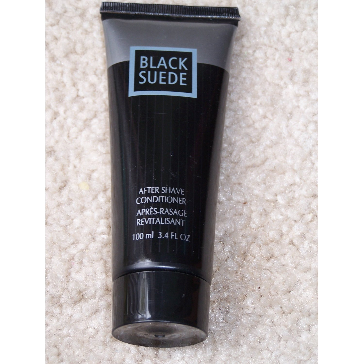 Black Suede After Shave Conditioner By Avon