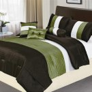 8 PC California King Luxury Comforter Set
